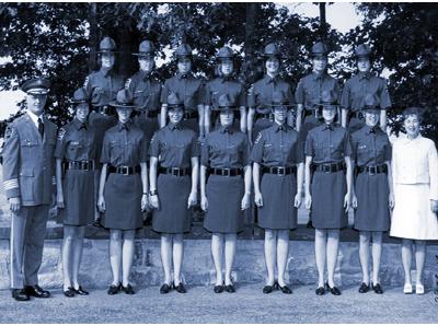 Colonel Rocco Urella 1972 Female Graduates
